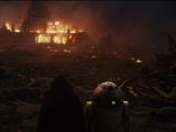 Destruction des Jedi de Luke Skywalker