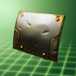 Plaque acier