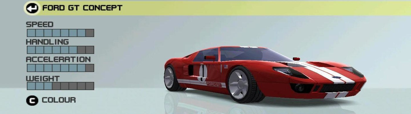 Ford Gt Concept Vehicle Information