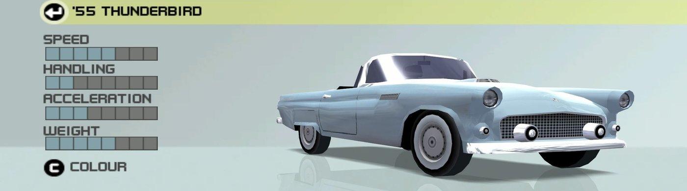 1955 Ford Thunderbird Ford Racing 3 Wiki Fandom Powered By Wikia