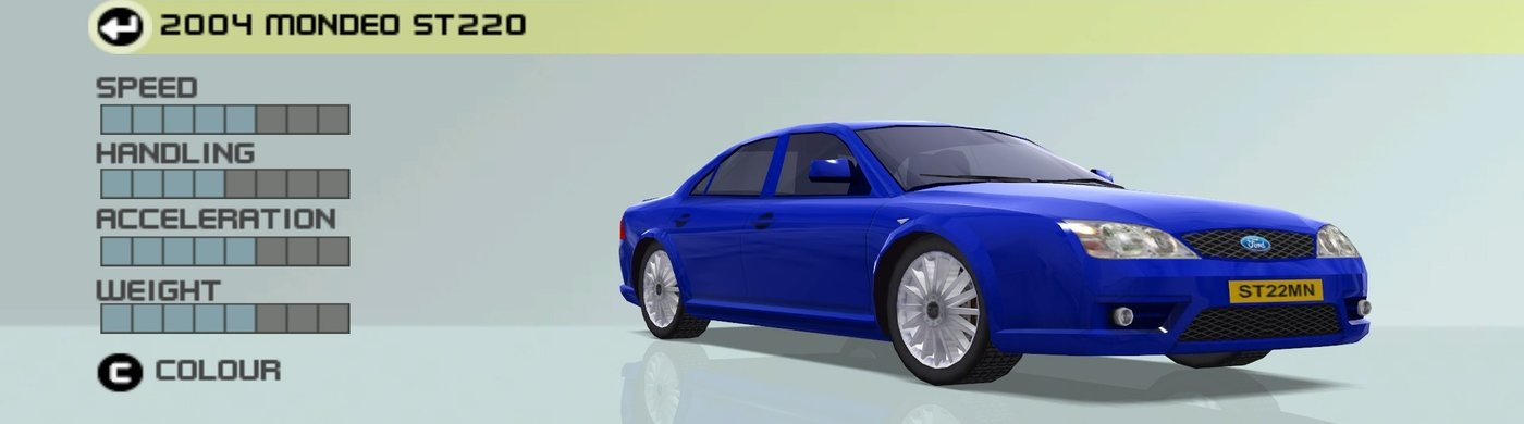 2004 Ford Mondeo St220 Ford Racing 3 Wiki Fandom Powered By Wikia