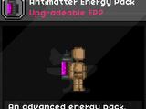 Antimatter Energy Pack