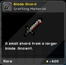 Blade Shard | FrackinUniverse Wiki | FANDOM powered by Wikia