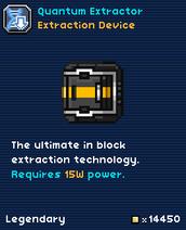 Quantum Extractor-0