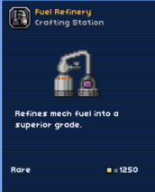 Fuel refinery