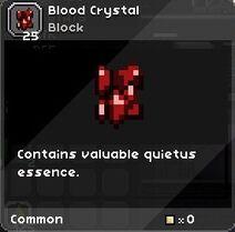 Blood crystal