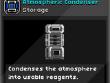 Atmospheric Condenser
