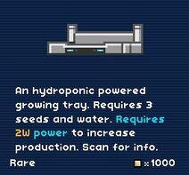 Hydro Tray