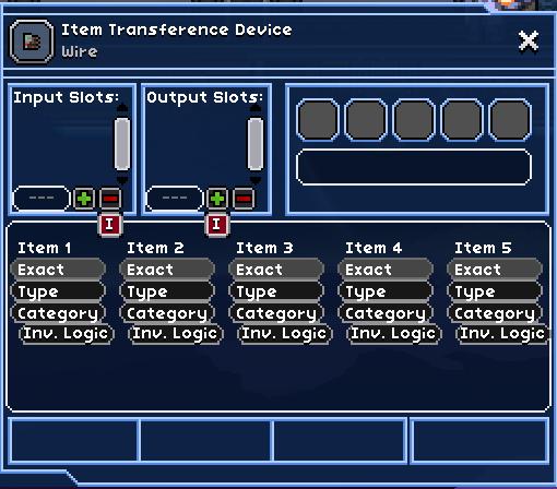 Item Transference Device | FrackinUniverse Wiki | FANDOM
