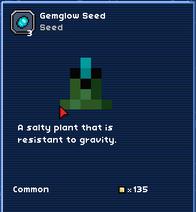 Gemglow seed