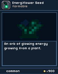 Energyflowerseed