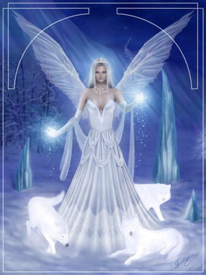 Snow fairy by
