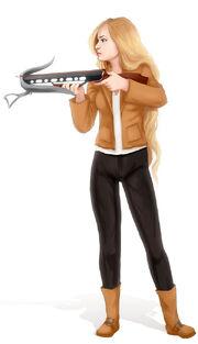 Crossbow hunter by madam marla-d6w7r15