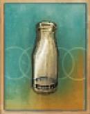 Cracked Milk Bottle Item