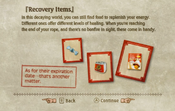 Recovery Items Tutorial