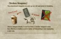 Broken Weapons Tutorial