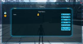 Guild options