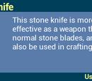 Stone Knife