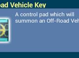 Off-Road Vehicle Key