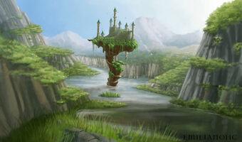 Hidden castle by emilianohc