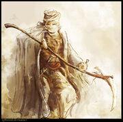 Desert elf by tghermit-d3emlmg