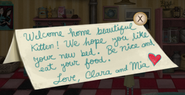 Clara and mia's note 1
