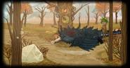 Dark feathered Palontras