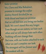 Clara and mia note 2