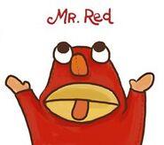 Mr. Red!