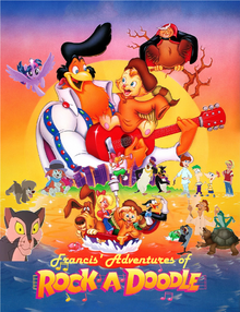 Francis' Adventures of Rock-a-Doodle Poster