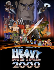 Francis' Adventures of Heavy Metal 2000 Poster