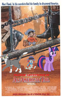 Francis' Adventures of An American Tail Poster