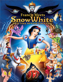 Francis Meets Snow White and the Seven Dwarfs Poster