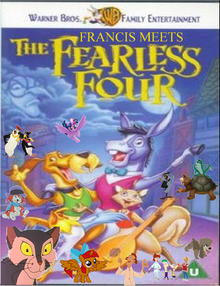 Francis Meets The Fearless Four Poster