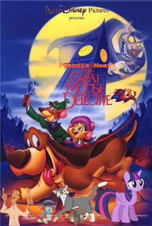 Francis Meets The Great Mouse Detective Poster