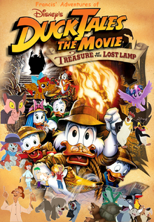 Francis' Adventures of DuckTales The Movie Treasure of The Lost Lamp Poster
