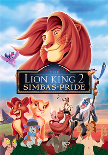 Francis Meets The Lion King 2 Simba's Pride Poster
