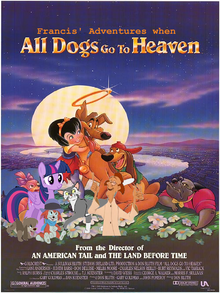 Francis' Adventures when All Dogs go to Heaven Poster