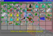 Interface de baque Runescape Classique