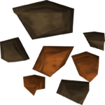 Minerai de cuivre détail