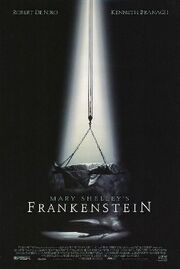 Mary Shelley's Frankenstein (1994) theatrical poster