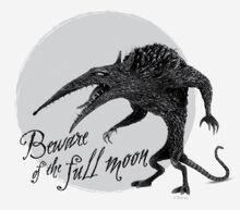 Wererat beware of the full moon t shirt-r6150dc9a65764a92b86c5501df6525fc k2gr0 307