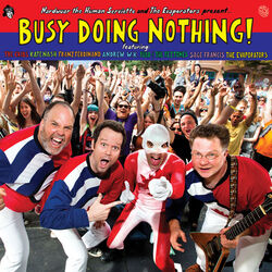 Busy doing nothing cover