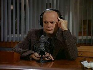 Frasier Crane Shrink Wrap radio station KACL