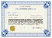 Pharmacy Express NZ License