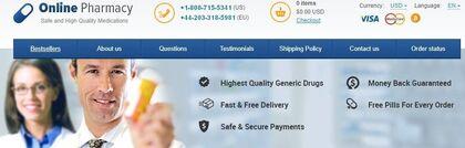 Online Pharmacy 2018 header