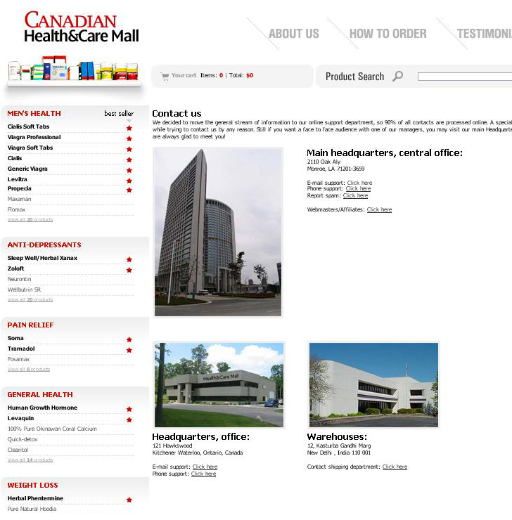 CanadianHealth&CareContacts