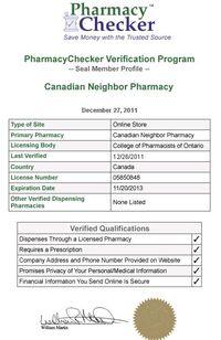 Canadian Neighbor Pharmacy Checker