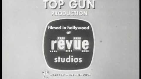 "Revue Studios Logo With ""A Top Gun Production"" (1960) ""Long Version"""