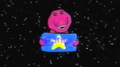 Barney Home Video Classic Collection Logo 1995